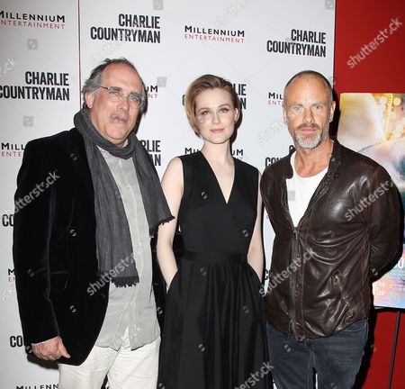 Stock Photo of Evan Rachel Wood, Fredrik Bond and guest
