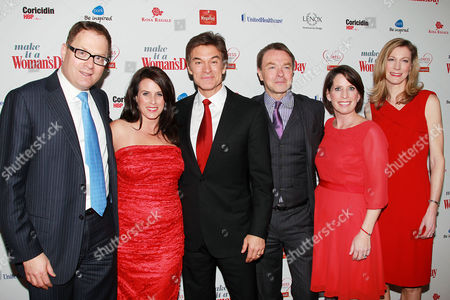 Editorial image of Woman's Day magazine 'Red Dress Awards', New York, America - 15 Feb 2012