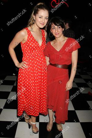 Stock Image of Ella Rae Peck and Leslie Meisel