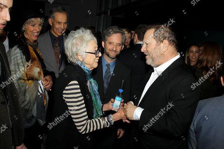 Margaret Keane and Harvey Weinstein