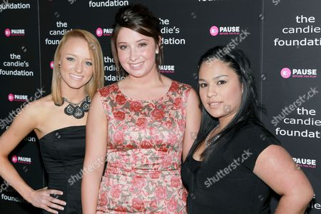 Maci Bookout (MTV's Teen Mom), Bristol Palin and Brianda Diaz