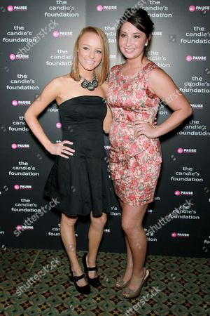Maci Bookout (MTV's Teen Mom) and Bristol Palin