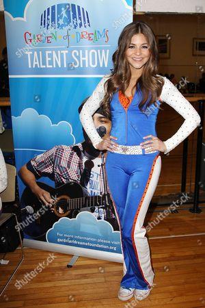 Stock Image of Alyssa Quezada (Knicks City Dancer)
