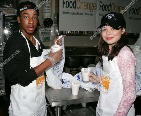 Lil JJ and Miranda Cosgrove