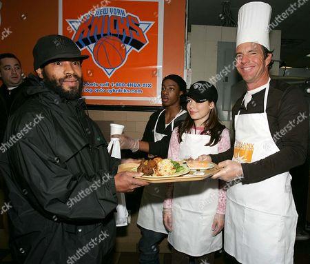 Lil JJ, Miranda Cosgrove and Dennis Quaid