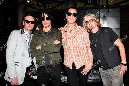 Stone Temple Pilots - Scott Weiland, Dean DeLeo, Robert DeLeo and Eric Kretz