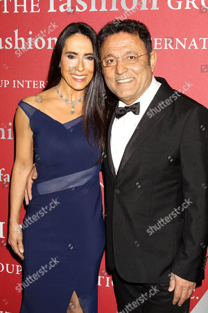Elie Tahari and Joanne Blessinger