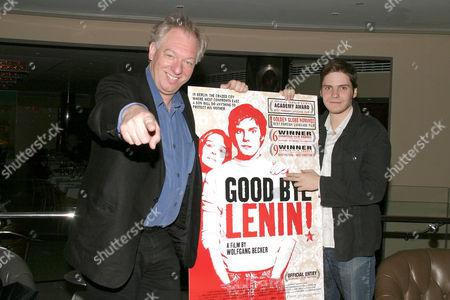 Wolfgang Becker and Daniel Bruhl