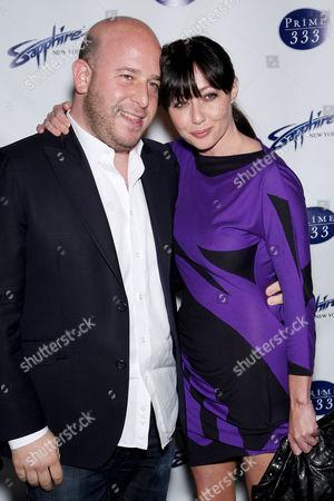 Noah Tepperberg and Shannen Doherty