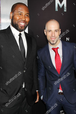 Stock Picture of Claude Kelly and Chris Daughtry
