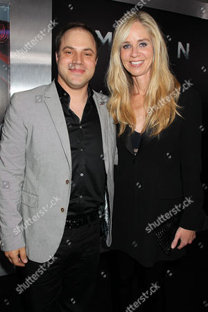 Geoff Johns and Diane Nelson