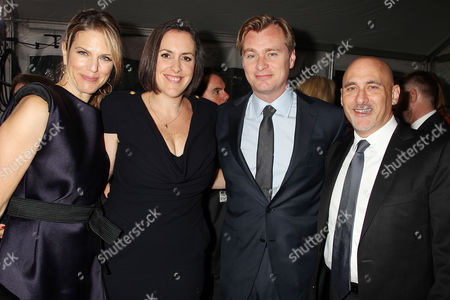 Lynn Harris, Emma Thomas, Christopher Nolan and Jeffrey Robinov