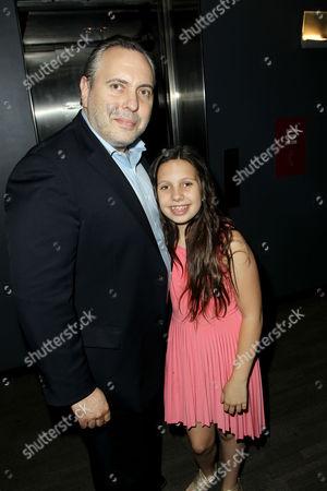 Stock Photo of Chris Papavasiliou with Daughter