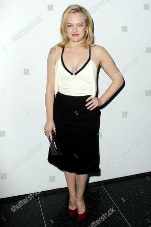 Stock Photo of Elisabeth Moss