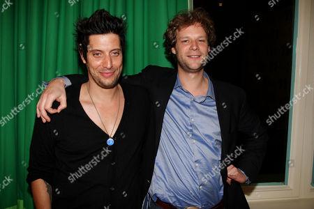 Shawn Andrews and Jakob von Eichel
