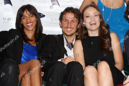 Megalyn Echikunwoke, Tao Ruspoli and Olivia Wilde
