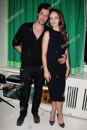 Stock Picture of Shawn Andrews and Olivia Wilde