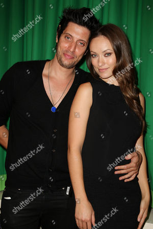 Shawn Andrews and Olivia Wilde