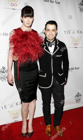 Editorial picture of Tie The Knot spring collection launch, New York, America - 27 Feb 2013