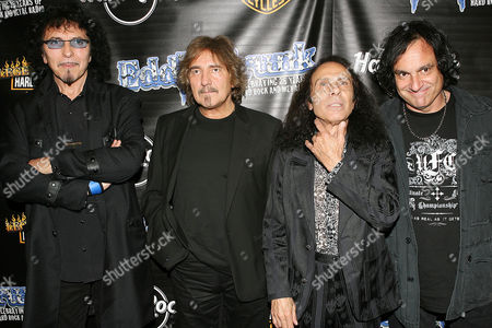 Heaven and Hell, Tony Iommi,Geezer Butler ,Ronnie James Dio