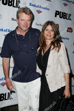 Stock Photo of Aidan Quinn and Elizabeth Bracco-Quinn