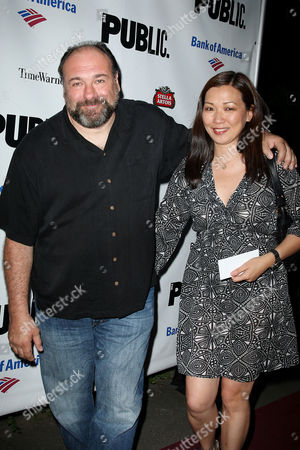 James Gandolfini and wife Deborah Lin