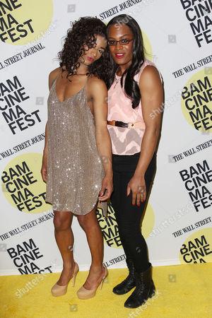 Stock Image of Kitana Kiki Rodriguez and Mya Taylor