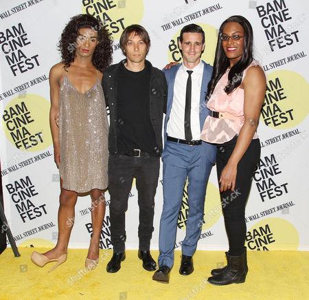Stock Picture of Kitana Kiki Rodriguez, Sean Baker (Director), James Ransone and Mya Taylor