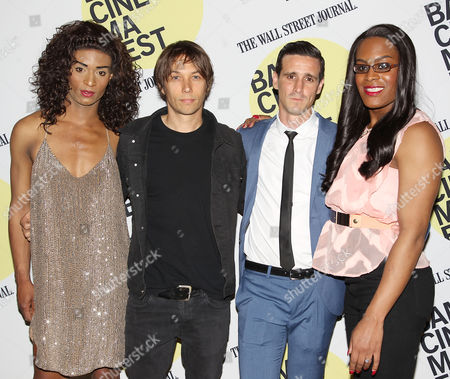 Stock Photo of Kitana Kiki Rodriguez, Sean Baker (Director), James Ransone and Mya Taylor