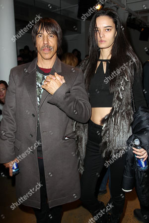Anthony Kiedis and Helena Vestergaard