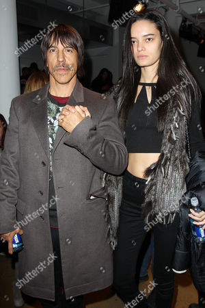 Stock Picture of Anthony Kiedis and Helena Vestergaard