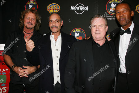Stock Picture of Greg Rollie, Michael Carabello, Michael Shrieve and Alfonzo Johnson