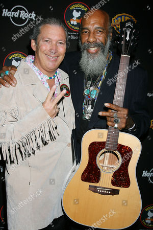 Jeff Baker and Richie Havens