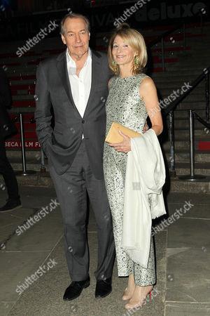 Stock Photo of Charlie Rose and Amanda Burden