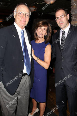Nicholas Pileggi, Rikki Klieman and Hank Brennan