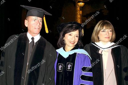Editorial photo of CALVIN KLEIN RECEIVING HONORARY DEGREE FROM 'FIT', NEW YORK, AMERICA - 23 MAY 2003