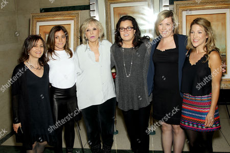 Lisa Heller, Carlye Rubin, Sheila Nevins, Rosie O'Donnell, Ginger Williams-Cook and Katie Green