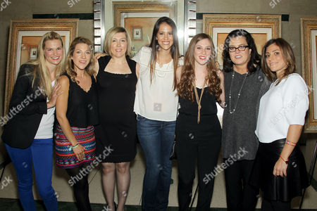 Tina Grapenthin, Katie Green, Ginger Williams-Cook, Leticia Guimares-Lyle, Jordyn Levine, Rosie O'Donnell and Carlye Rubin