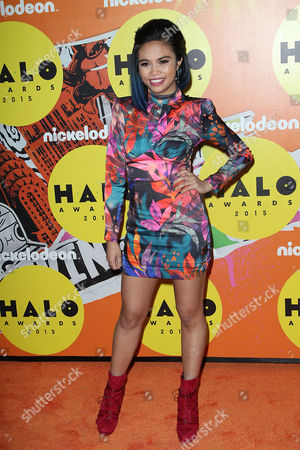 Editorial picture of Nickelodeon Halo Awards, New York, America - 14 Nov 2015