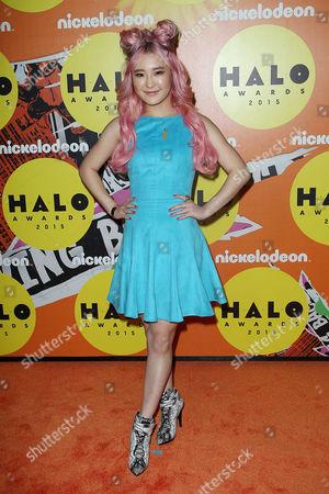 Editorial photo of Nickelodeon Halo Awards, New York, America - 14 Nov 2015