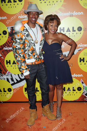 Stock Image of Nick Cannon and Beth Gardner