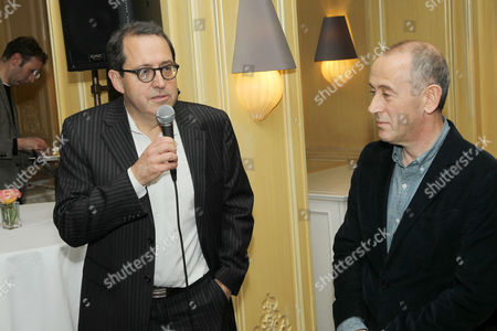 Michael Barker (Co-Pres SPC), Nicholas Hytner (Director)