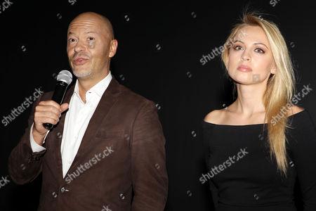 Fedor Bondarchuk and Yanina Studilina