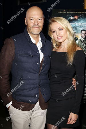 Stock Picture of Fedor Bondarchuk and Yanina Studilina