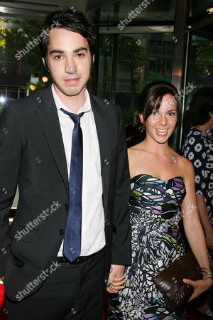 Jack Carpenter with girlfriend Mechelle