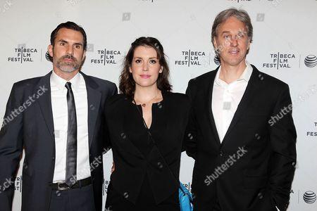 Paul Schneider, Melanie Lynskey and Angus MacLachlan