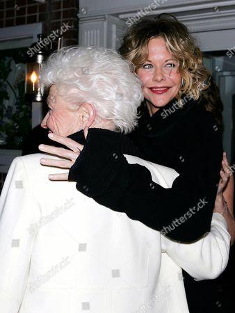 Ann Richards with Meg Ryan