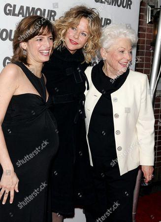 Cindi Leive with Meg Ryan and Ann Richards
