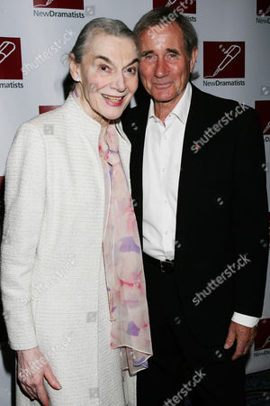 Marian Seldes and Jim Dale