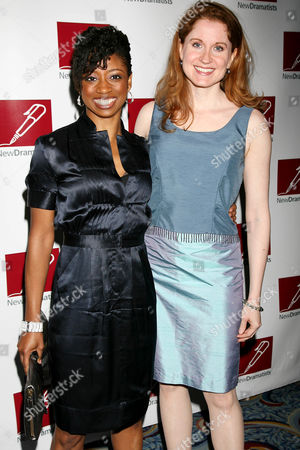 Montego Glover and Christiane Noll